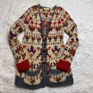 Sleeping On Snow Chunky Long Cardigan Sweater